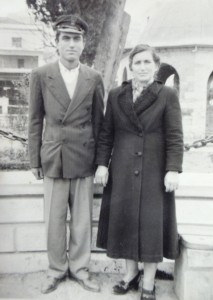 21 Manuel and mother Anna, 1955