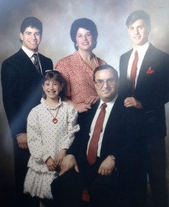 24 George, Ellie, Peggy, Manuel and Athan, mid 1980s