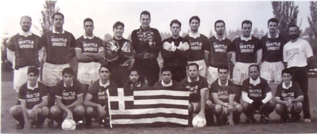 5 Greek American soccer team, 1990s