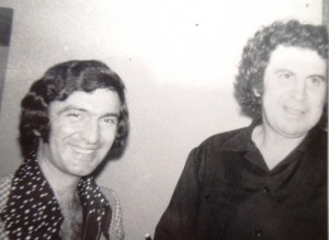 5 John with Mikis Theodorakis in Toronto, 1969