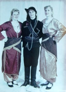 10 Diana, George and Claire at Folk Dance Festival, circa