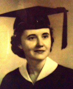 10 Sophia at college graduation, 1958