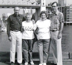 12 Bob and Billie, Katie and Dennis, 1989