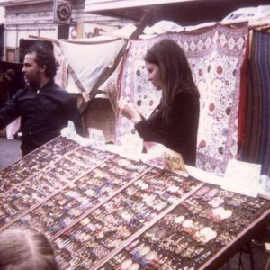 14 Dimtri and Jan at art fair in early 1970s