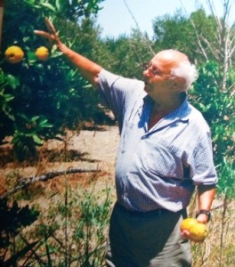 16 Dimitri with oranges in Greece, circa 2005