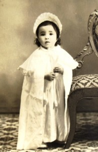 5 Holly's baptism, 1956