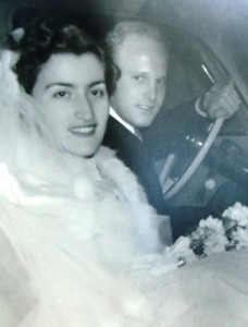 7 Popi and Glen wedding, 1952