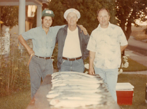 17 Salmon fishing with Jerry and Gene Theilen, 1976
