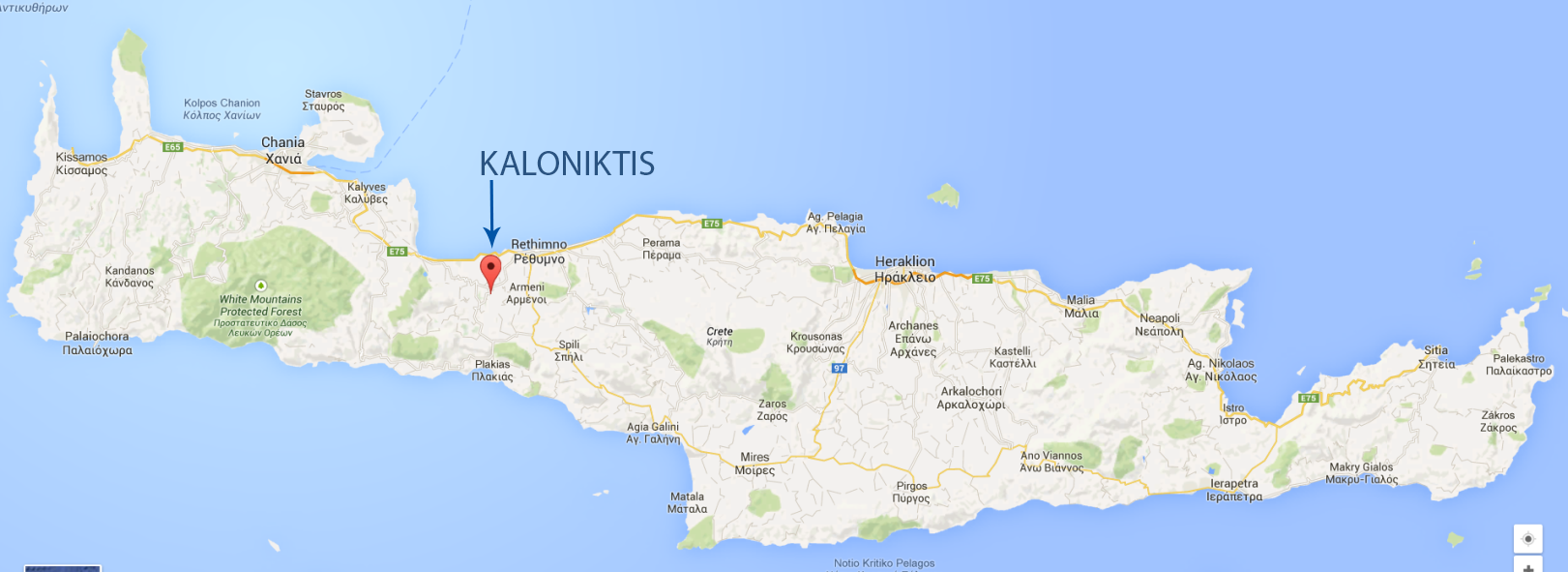 1a KALONIKTIS MAP