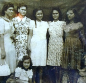 3 Sister Evangelia and cousins, circa 1940