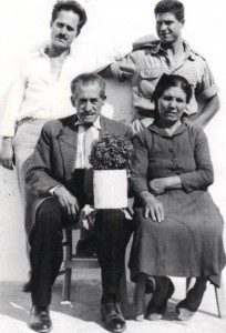 5 Corporal Michael with brother George, mother and father, 1958