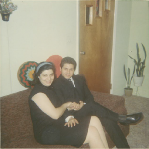 9 Newlyweds anna and Michael, 1966
