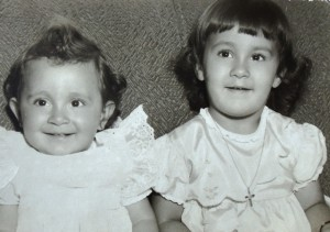 14 Deena and Mary, 1951