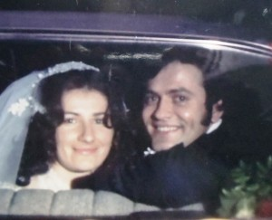 6 Kostula and Dino wedding, 1975