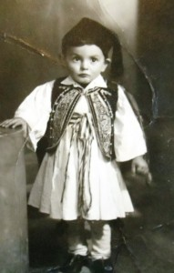 9 Andy in fouseanella, 1945