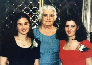 14 Connie, Yiayia Maria, Maria, 1995