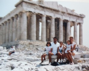 15 Family in Greece, circa