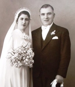 7 Maria and Tom wedding, 1939