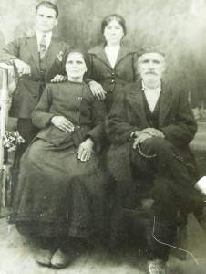 2 Demetrios Talaganis, wife and cousins, 1940s