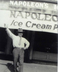 7 Napoleons Ice Cream Shop, circa 1918