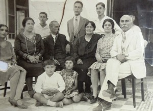 2 Family, Phillipos (seated) 1930s