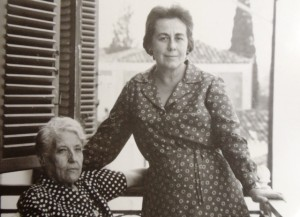 5 Yiayia Panagiota and mother Andrianna, late 1950s