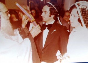 8 Christos and Kathy wedding, 1975