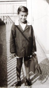 8 Stamatis, first day at school, 1969