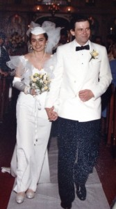 19 Maria and Steve wedding, 1986