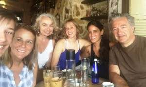 25 Bobby, Ruth, Maria, Natalie, Eleni and Christos in Greece, 2016