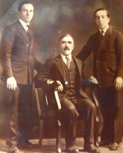 3 Grand father Assuras and cousins Chris and Bill Kanthis, 1920s