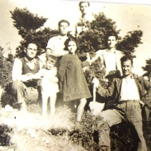 3 In the Greek mountains (Inako, Staveo, Uncle, Elie, Vasili, Uncle Elia