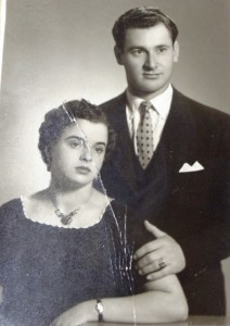 4 Eleni and Athanasios engagement, 1955