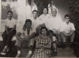 4 Meras Family in Havre, 1951