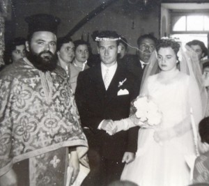 5 Athanasios and Eleni wedding, April 1957