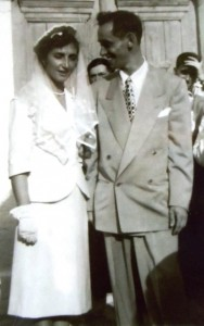 5 Maria and Paul wedding, 1951