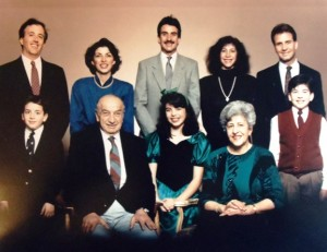 5 Paul Dudunakis family, mid 1980s