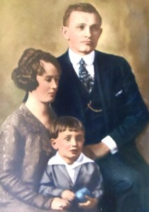 9 Alexandra, Paul and Nick Cooper, 1925
