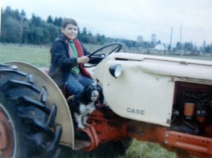 14 Jim on a Tractor, 1967
