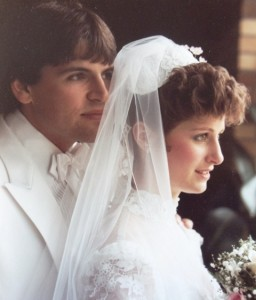 18 Jim and Patty wedding, 1984
