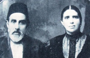 9 Paternal Great grandparents Jacob and Dona (nee) Gabai Behar circa