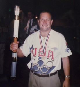 11 Tommy as member of Washington State Olympic Committee, 1996