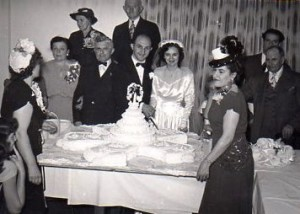 6 GUST AND ANNA WEDDING, 1948