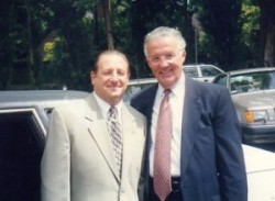 15 Tommy with Senator Paul Sarbanes, 1999