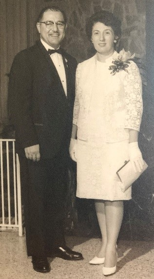 Gus' parents, George & Mary
