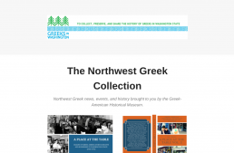 The Northwest Greek Collection: News, Events, and History 2020